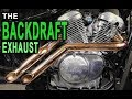 BACKDRAFT EXHAUST for VT600 and VT750