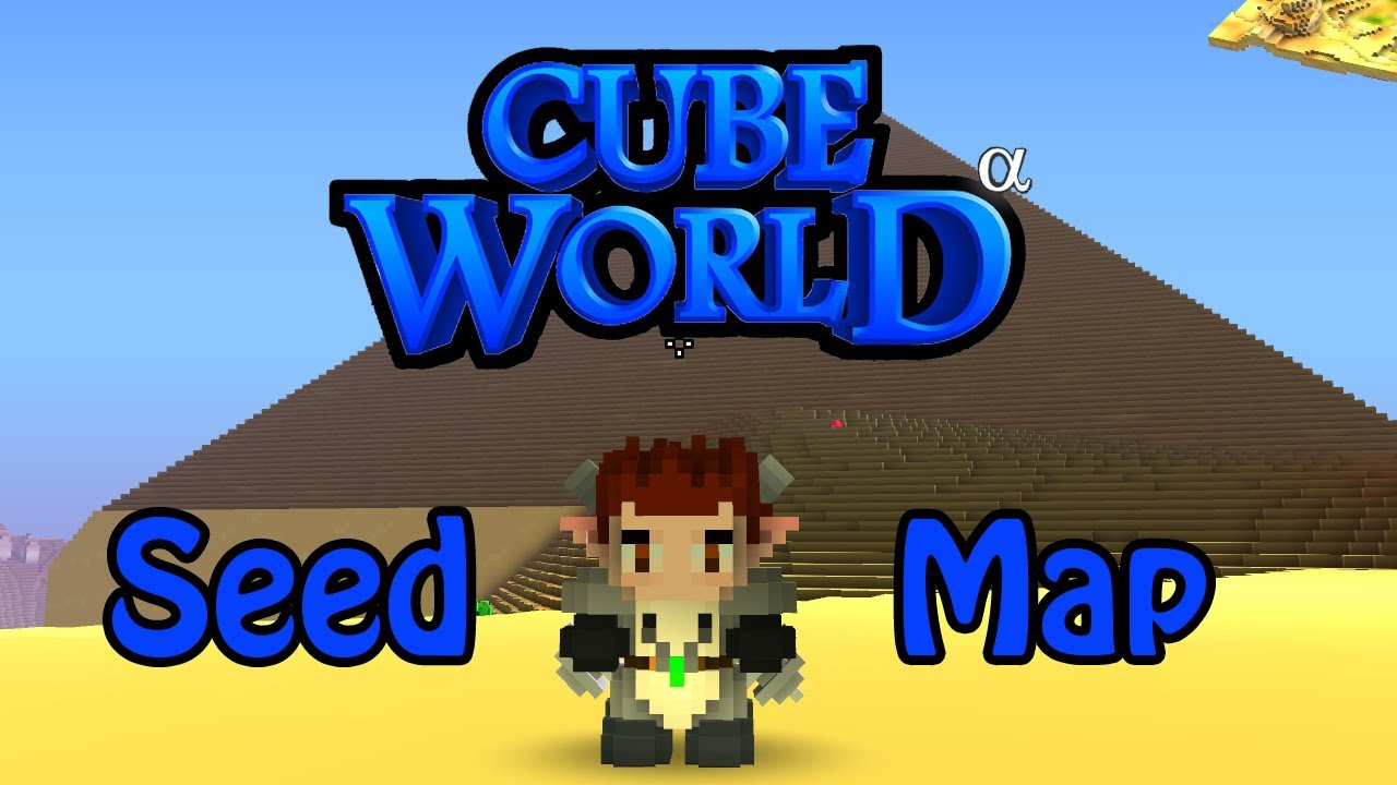 Cube world tuto seed map youtube sciox Gallery