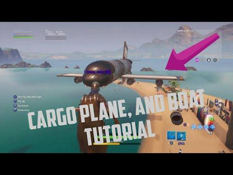 Fortnite Creative Boats And Plane Tutorial