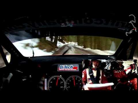 Lavanttal Rallye 2013 SP02 Beppo Harrach onboard