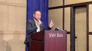 Etienne Nguyễn Thái Học họp báo