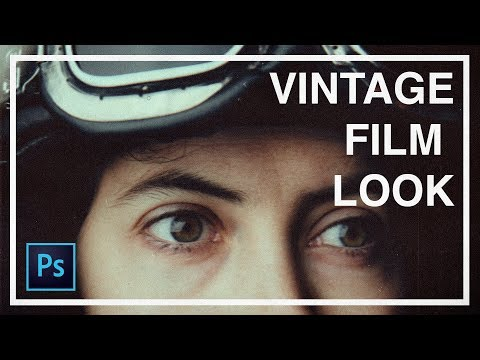Give Your Photos A Vintage Film Look   Photoshop Tutorial