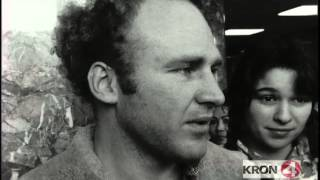 Ken Kesey & Mountain Girl on Arrest