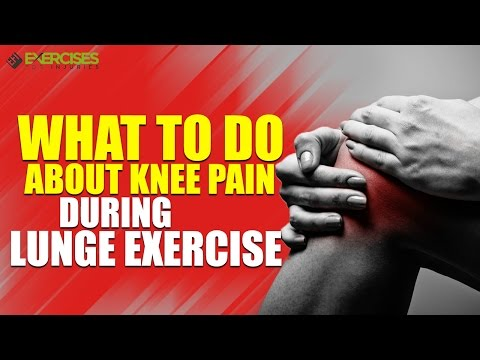 How to proceed if Lunges Hurt The Knees
