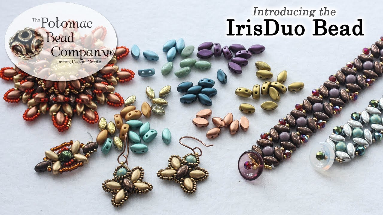 New IrisDuo Bead - YouTube