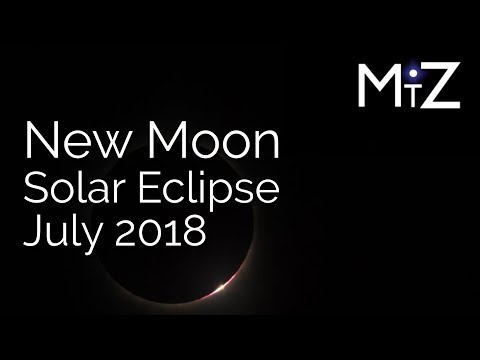 New Moon / Solar Eclipse July 2018 - True Sidereal Astrology