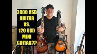 Cheap Vs. Expensive Guitar? Chinese Epiphone Mini Les Paul Express vs. USA Gibson Les Paul Standard