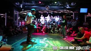 Locking Rookie Side Final - 7 to smoke | 20141011 College High Vol.10 Day1