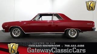 1965 Chevrolet Malibu SS Gateway Classic Cars Chicago #803
