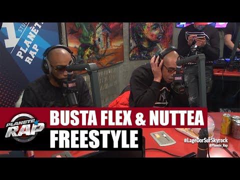 Busta Flex & Nuttea en freestyle #PlanèteRap