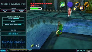 AGDQ 2021 - Ocarina of Time All Dungeons Speedrun in 41:40