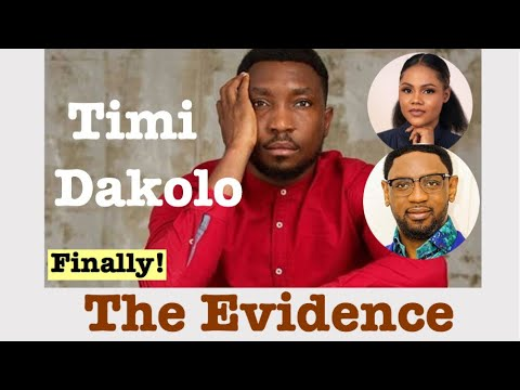 Timi Dakolo Finally Produces Evidence | Don Jazzy Shows Support