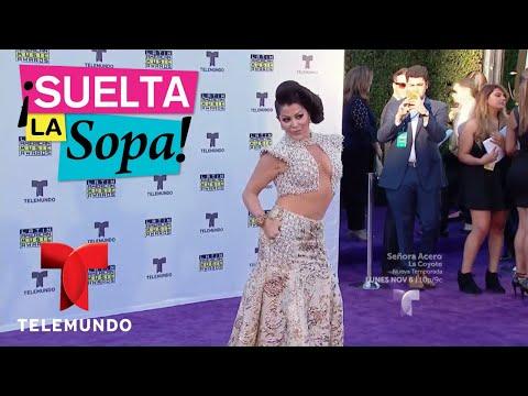 Aciertos y desaciertos de la moda en Latin American Music Awards | Suelta La Sopa | Entretenimiento