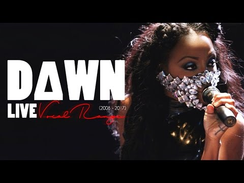D∆WN (Dawn Richard) Live Vocal Range (G2 - F♯6) | 2008-2017