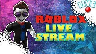 Roblox Live Stream! RomanNewBlox!