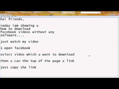 how to download youtube videos without any software in laptop