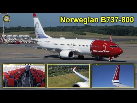 Norwegian Boeing 737-800 Hamburg to Malaga [AirClips full flight series]