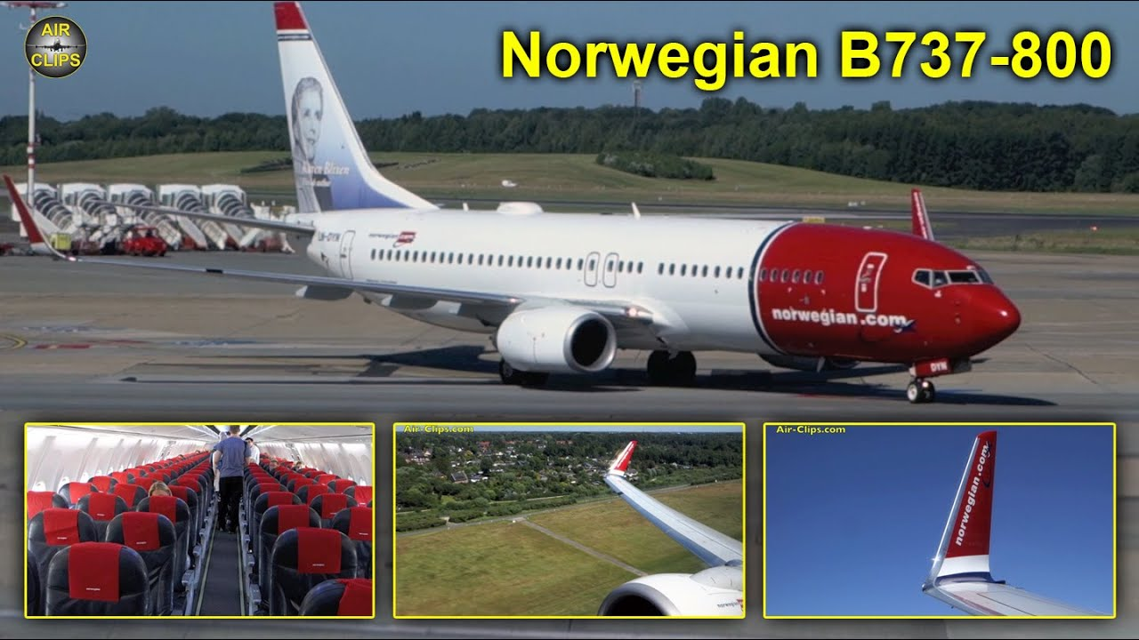 norwegian boeing 737 800 hamburg to malaga airclips full flight series youtube. Black Bedroom Furniture Sets. Home Design Ideas