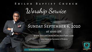 Shiloh Baptist Church: September 6, 2020