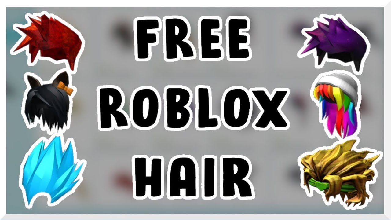 How To Get Free Hair On Roblox How To Get Free Roblox Hair How To Get Roblox Hair For Free 2020 Youtube
