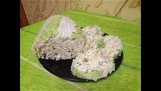 Салат- Слоеная капуста