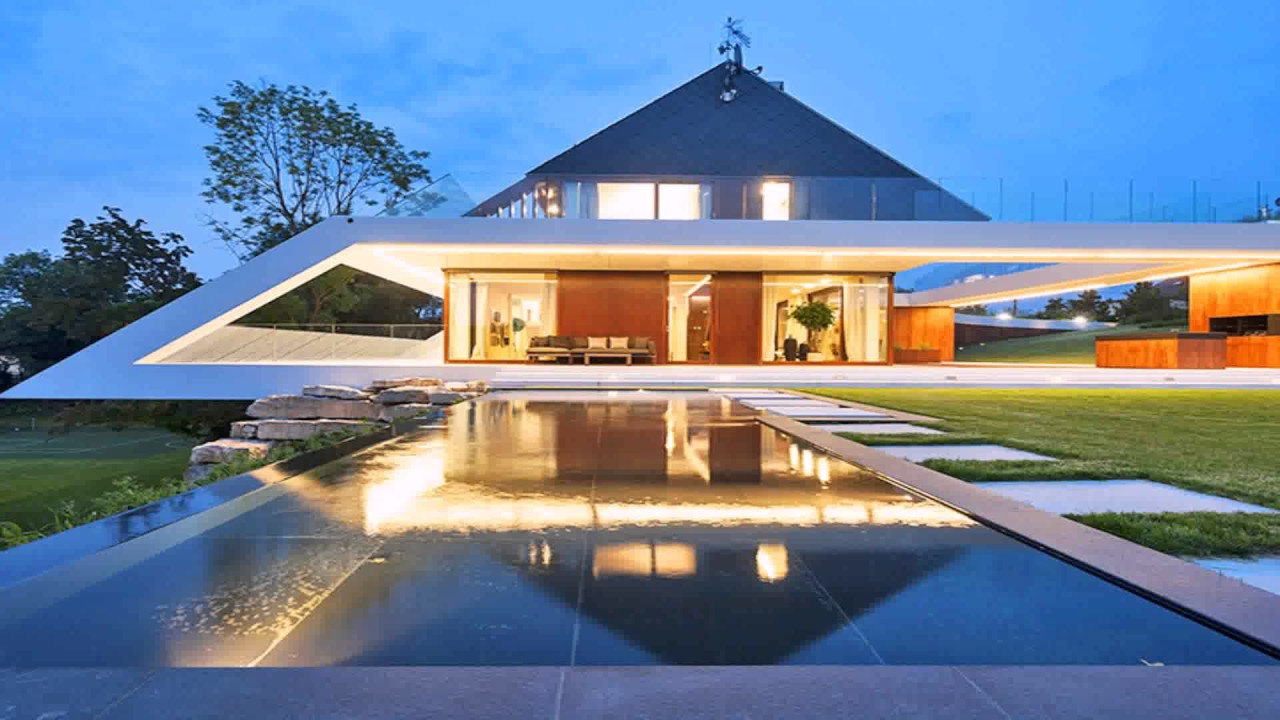 Modern House Style Architecture - YouTube