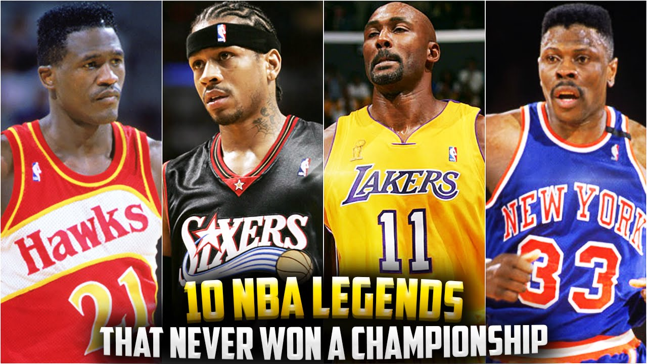 Great Nba Legends That Never Won A Championship Youtube