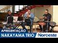 Apresentação musical do Nakayama Trio na Folha Noroeste