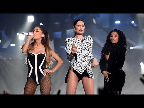 Jessie J Ariana Grande Nicki Minaj  MTV VMAS