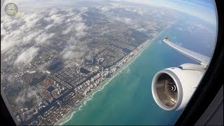 Airbus A330neo in 4K! TAP Air Portugal MIAMI Landing, just beautiful!  [AirClips]