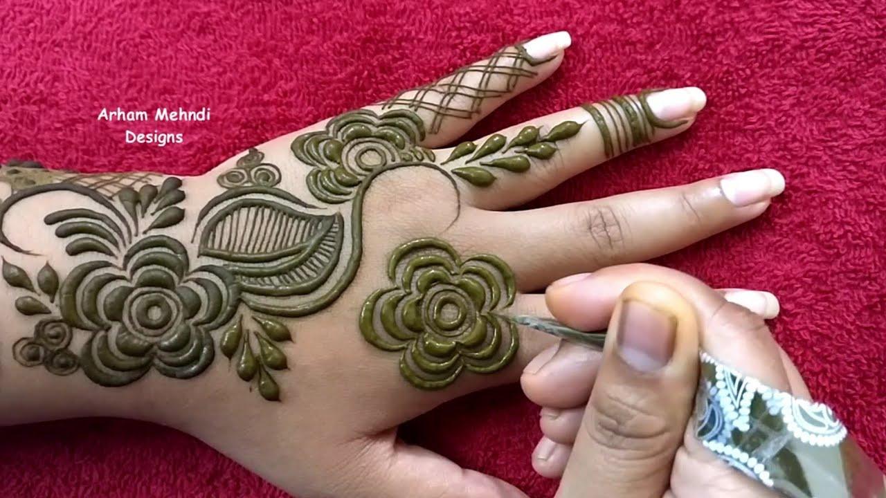 simple eid 2019 mehndi design