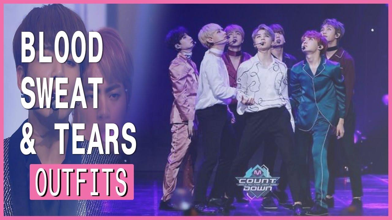 All BTS , Blood Sweat \u0026 Tears\u0027s outfits Compilation
