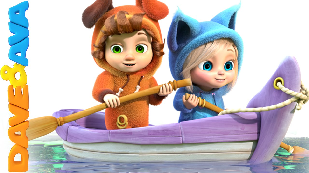 Row Row Row Your Boat Nursery Rhymes And Baby Songs From