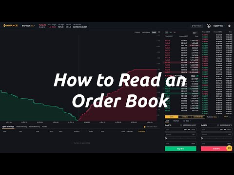 How to Read a Trading Order Book