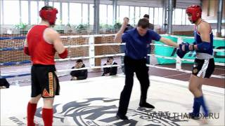 muay thai fighting russia Alexandr Vejevatov vs Djovatkhan Atakov