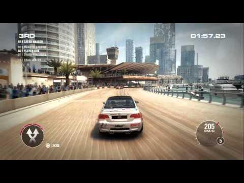 GRID 2 GAMEPLAY DUBAI  W. REPLAY (XBOX 360) www.xboxfront.de