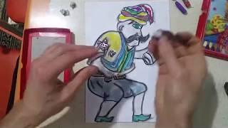 Hacivat Karagöz çizimi Hacivat Karagöz Diyalogları Selçuk Erdem