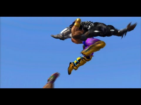 All of King's throws from Tekken Tag Tournament 2 [HD]