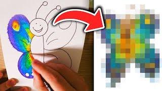 Falco malt ein AUSMALBUCH für Kinder aus! 👶🏼