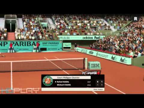 Top Spin 4 - Nadal VS Chang (Expert Difficulty)