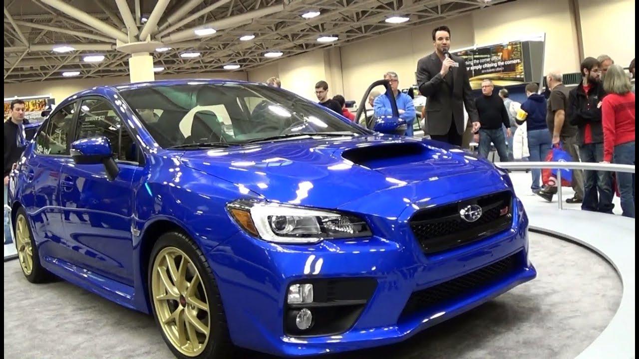 Subaru WRX STI Minneapolis Auto Show YouTube - Minneapolis car show