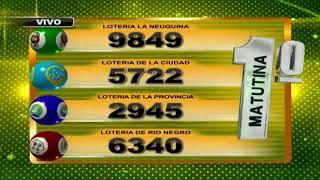SORTEO DE QUINIELA MATUTINA Nº 22899  / 21-11-19 - LOTERIA LA NEUQUINA