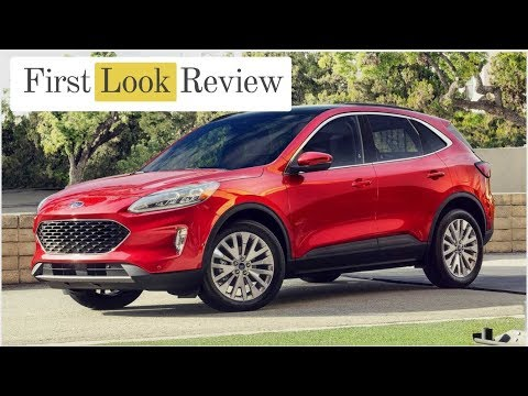2020 Ford Escape - First Look Review: Price, Features, Release Date, Configurations,
