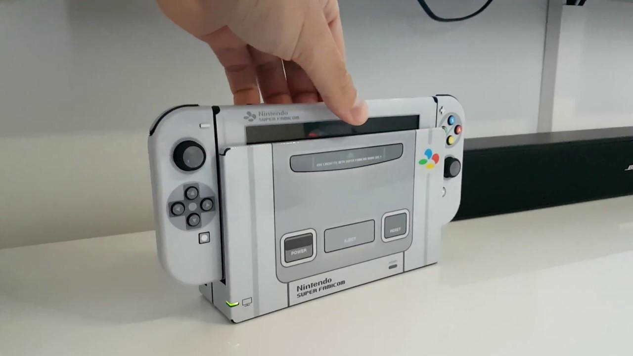 Stickers Super Nintendo Pour Nintendo Switch