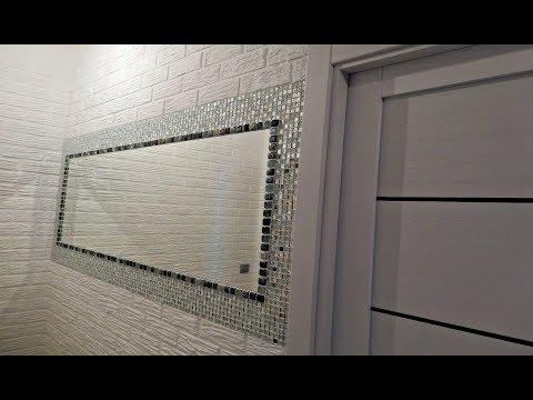 Как декорировать зеркало своими руками в прихожую