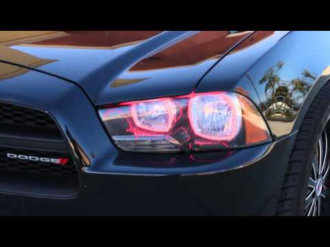 iJDMTOY Dodge Charger RGB LED Halo Ring Kit