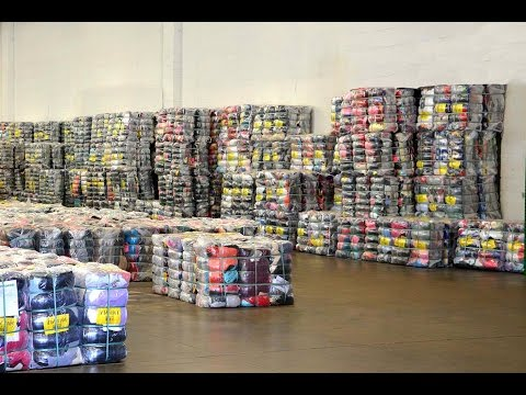 Used Clothes Warehouse Miami Florida USA
