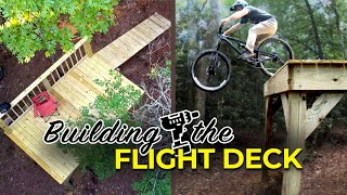 """Building and Riding the Backyard """"Flight Deck"""""""