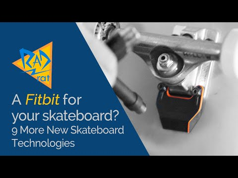 A Fitbit for your Skateboard? 9 More New Skateboard Technologies