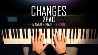 How To Play 2Pac Changes Piano Tutorial Lesson Sheets.mp3